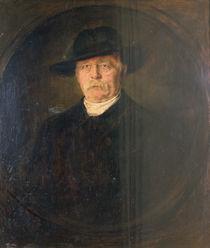 Otto von Bismarck, 1895 by Franz Seraph von Lenbach