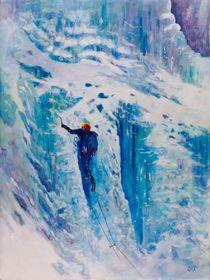 Ice climber by Geoff Amos