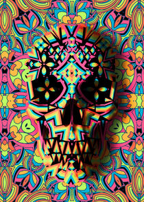 Skull Geo by Ali GULEC