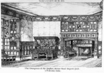 The Dining Room at the Poplars by English School