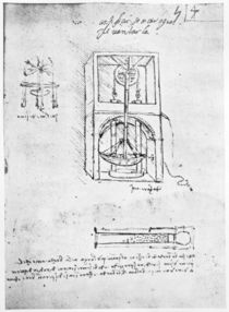 Fol. 54r from Paris Manuscript B by Leonardo Da Vinci