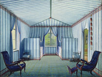 Tent Room, after 1830 by German School