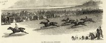The 2000 Guinea Race, Newmarket by English School