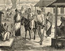 The Indian Famine: A Bengalee Village von English School