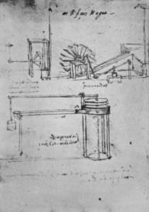 Fol. 53 , Manuscript B, 1488-89 von Leonardo Da Vinci
