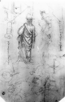 Studies by Leonardo Da Vinci