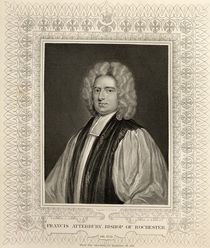 Francis Atterbury, Bishop of Rochester by Godfrey Kneller