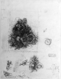 Study for the Virgin and Child with St. Anne von Leonardo Da Vinci