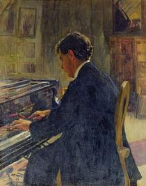 Portrait of Joseph Hofman, 1912 von Jan Franzevich Cioglinsky