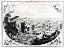 Early Settlement of Venice von Italian School