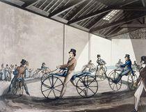 Johnson's Pedestrian Hobbyhorse Riding School by Henry Thomas Alken