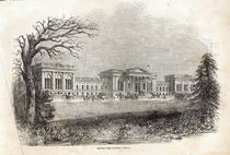Stowe - the Garden Front, from 'The Illustrated London News' by English School