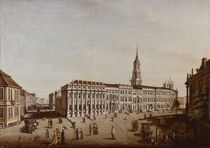 View of Castle Street and the Fiaker Square by Johann Friedrich Meyer