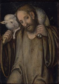The Good Shepherd by Lucas, the Elder Cranach