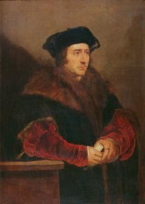 Portrait of Sir Thomas More by Peter Paul Rubens