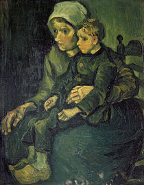 Mother and Child, 1885 von Vincent Van Gogh