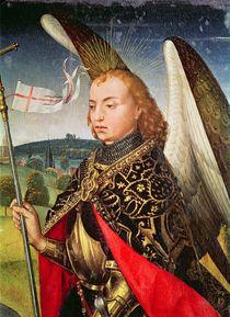 Saint Michael the Archangel von Rogier van der Weyden