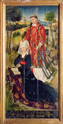 Right panel, from the main altar polyptych von Rogier van der Weyden