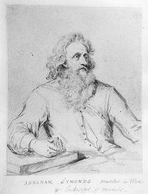 Abraham Symonds, after a portrait by Sir Godfrey Kneller von George Vertue