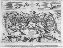 View of Jerusalem, 1570 ? von Etienne Duperac