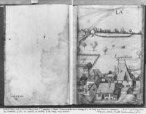 Fol.1 La Croix-aux-Mines village by Heinrich Gross or Groff