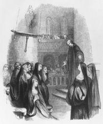 Abelard preaching at Paraclete by Jean Francois Gigoux