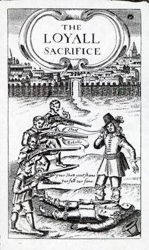 'The Loyall Sacrifice', pamphlet circulated in 1648 von English School
