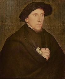 Henry Howard, Earl of Surrey von Hans Holbein the Younger