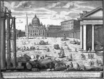 View of St. Peter's, Rome by Giovanni Battista Piranesi