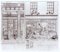 The Quadrant, Regent Street and Golden Lane by George the Elder Scharf
