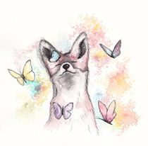 Butterfly Fox by Jessica May