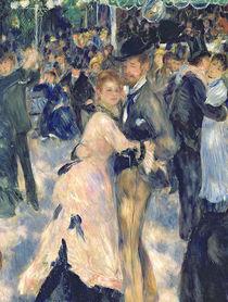 Ball at the Moulin de la Galette von Pierre-Auguste Renoir