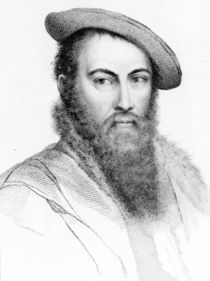 Sir Thomas Wyatt von Hans Holbein the Younger