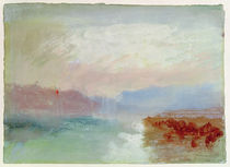 River scene, 1834 by Joseph Mallord William Turner