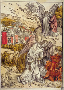 Angel with the Key of the Abyss by Albrecht Dürer