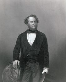 Michael Costa, from 'The Drawing-Room of Eminent Personages' von John Jabez Edwin Paisley Mayall