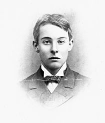 Lord Alfred Douglas, at the age of Twenty-One by English Photographer