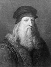 Leonardo da Vinci, engraved by Raphael Morghen by Leonardo Da Vinci