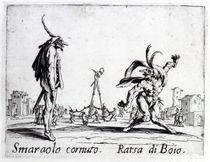 Balli de Sfessania, c.1622 by Jacques Callot