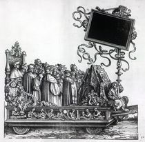 Scene from Maximilian's Triumphal Procession by Hans Burgkmair