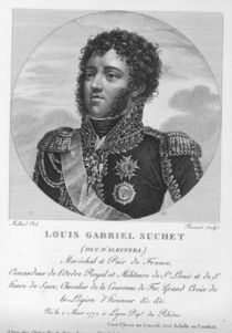 Louis-Gabriel Suchet Duke of Albufera and Marshal of France by French School