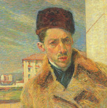 Self Portrait, 1908 by Umberto Boccioni