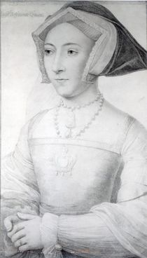 Jane Seymour, c.1536 von Hans Holbein the Younger