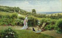 In the Garden, 1903 von Thomas James Lloyd
