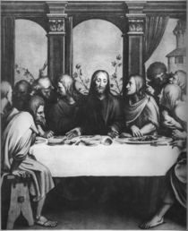 The Last Supper von Hans Holbein the Younger
