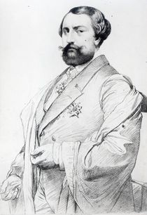 Le Comte de Nieuwerkerke by Jean Auguste Dominique Ingres