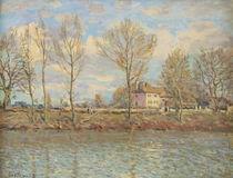 L'Ile de la Grande Jatte, Neuilly-sur-Seine von Alfred Sisley