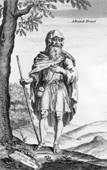 A British Druid, engraved by van der Gucht by William Stukeley