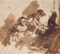 Reading von Rembrandt Harmenszoon van Rijn