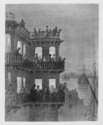 Greenwich in the Season, illustration from 'London von Gustave Dore
